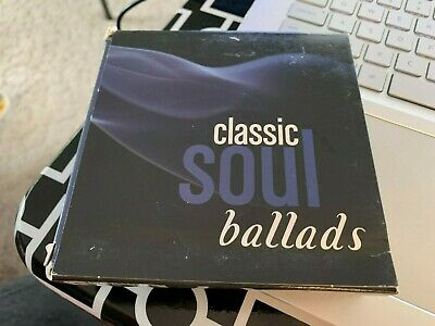 £33.36 • Buy Classic Soul Ballads [Box] By Various Artists (CD, 2018, 10 Discs, Time/Life)