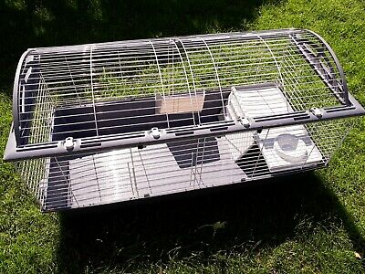 £30 • Buy Ferplast Indoor Rabbit Cage With Bed Box, Guinea Pig Small Animal Pet House