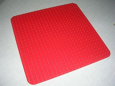 £9.95 • Buy Genuine Large Lego Duplo Base Board In Red - 24 Pins X 24 Pins