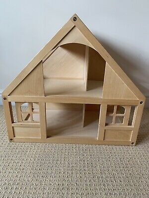 £30 • Buy ELC Wooden Dolls House With Furniture And Family
