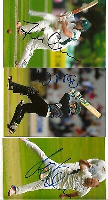 £2.99 • Buy WORCESTERSHIRE  Cricketers Signed 6x4 Photos X 3