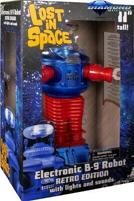 $ CDN61.92 • Buy Diamond Select Toys Lost In Space Retro B9 Electronic Robot Figure New In Stock