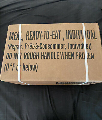 $70 • Buy MRE Case Meal-Ready-To Eat Menu A- Military Surplus