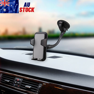 AU12.98 • Buy Mobile Phone Holder Car Windscreen 360° Strong Suction Cup Windshield Universal