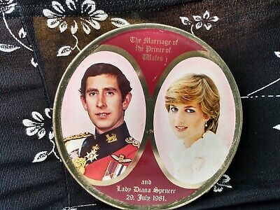 £3.54 • Buy  Lady Diana And Prince Charles Wedding Smith And Kendon Travel Sweets Tin