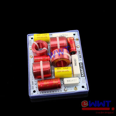 AU23.57 • Buy KASUN AS-33C-2 HiFi Speaker Frequency Divider Crossover Filter 3Way 160W FVOU161