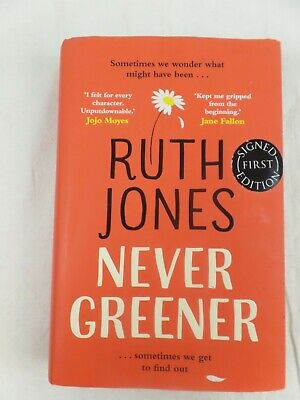 AU7.23 • Buy Never Greener- Hardcover –Ruth Jones-Signed First Edition.