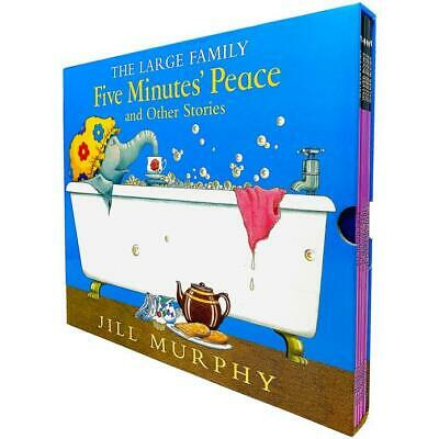 £19.99 • Buy The Large Family Five Minutes' Peace & Other Stories 5 Book Set By Jill Murphy