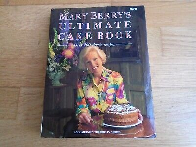 £8 • Buy Mary Berry Ultimate Cake Book