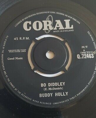 £4 • Buy Buddy Holly UK Coral 45 ~ Bo Diddley / It's Not My Fault