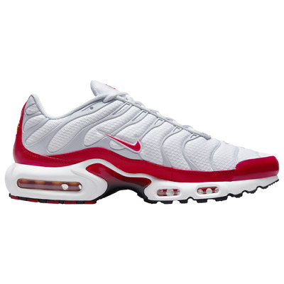 $169.99 • Buy Nike Air Max Plus White Red Grey Casual Shoes (Men's Sizes 8-13)   M8332100