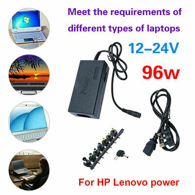 £7.19 • Buy Universal 96W Power Supply Adapter Charger 12-24V For PC Laptop & Notebook AC UK
