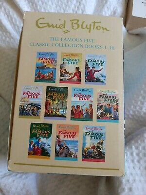 £3.30 • Buy Famous Five Books Set Of 10 Used