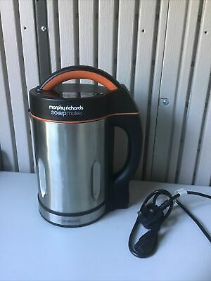 £19.95 • Buy Morphy Richards 48822 1.6L Soup Maker. Great Condition