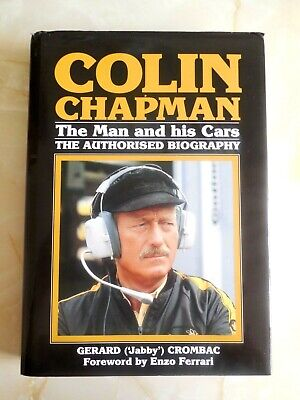£4.99 • Buy Colin Chapman: The Man And His Cars By Gerad (Jabby)Crombac,
