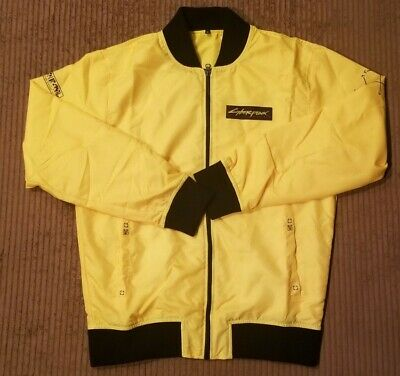 $ CDN30.35 • Buy Cyberpunk 2077 Jacket Yellow With Black Adult Small Ex Condition 100% Polyester