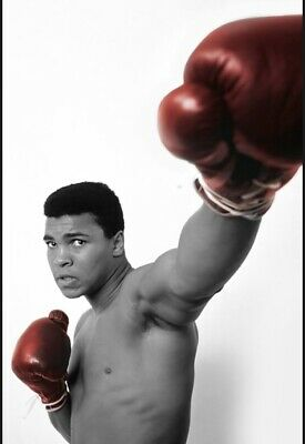 £24.99 • Buy Muhammad Ali Boxing  Canvas Print Wall Art Picture Size 20x30 Inch 18mm