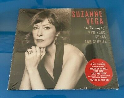 £9.50 • Buy SUZANNE VEGA - AN EVENING OF NEW YORK SONGS STORIES  - New & Sealed CD