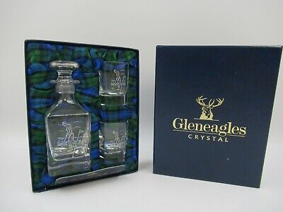 £19.99 • Buy Gleneagles Crystal 'The St.Andrews ' Lady Golf Set Small Decanter & Glass C833