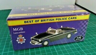 £9.96 • Buy NEW IN SEALED BOX, ATLAS, MGB 'LANCASHIRE' POLICE CAR 1:43rd Scale