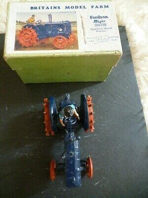 £52 • Buy Attic Find!  Britains Model Farm Fordson Major Tractor 127f>vintage With Box>vgc