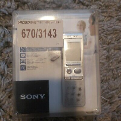 £32.99 • Buy Sony ICD-B500 Dictaphone Dictating Machine Brand New