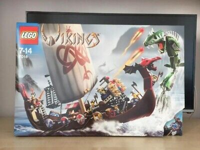 £92.71 • Buy LEGO Viking Ship Challenges The Midgard Serpent (7018) New Sealed Box