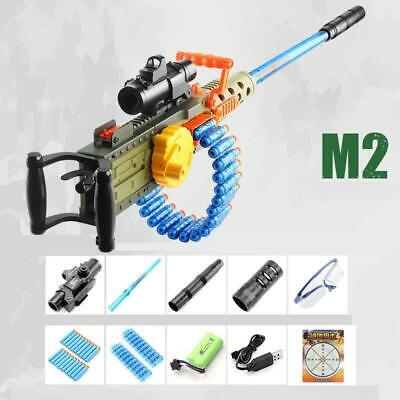 $124.99 • Buy M249 Electric Manual Action Weapon Blaster Bullet Gun Outdoor Gift Toy For Kids