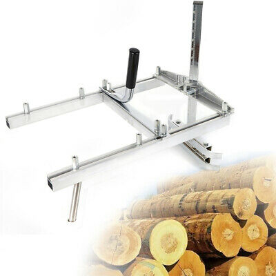 £50.76 • Buy Slabbing Machine Portable Chainsaw Mill Set Attachment Planking Lumber Guide Bar