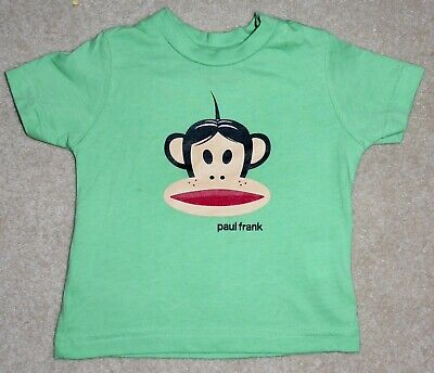 £2.50 • Buy Paul Frank Small Paul Green T-shirt 6 Months Perfect Condition