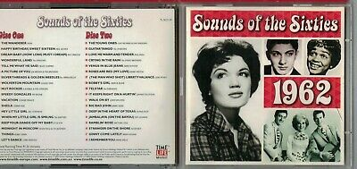 £14.99 • Buy Sounds Of The Sixties 1962 Time Life Cd