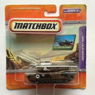$40 • Buy 1998 Matchbox Premiere Military Collection Abrams M1A1 Die-Cast Tank New