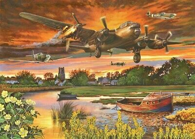 £14.99 • Buy House Of Puzzles - 1000 PIECE JIGSAW PUZZLE - On A Wing & A Prayer Panmure