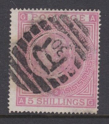 £3.20 • Buy Gb Stamps Queen Victoria 5/- Five Shillings Check A-g Plate 2