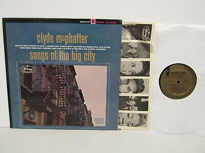 £7.07 • Buy Clyde McPhatter-Songs Of The Big City-Promo-R & B-LP