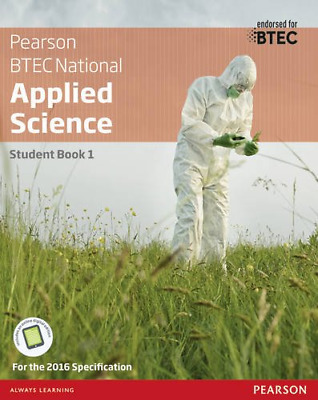 £20.45 • Buy BTEC Nationals Applied Science: Student Book Level 3 (BTEC Nationals Applied Sci