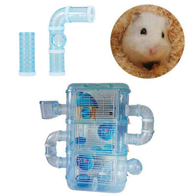 £8.60 • Buy Hamster Tube Tunnel Toy DIY Assorted Playground Module Toy Exercise For Pet D9I4