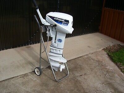 AU750 • Buy 15 Hpjohnson Outboard Motor Including Stand In Very Good Cond & Other Parts Also