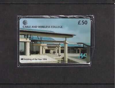 £35 • Buy V/rare Mercury/cable & Wireless £50 Mint Sealed Phonecard Not In The Catalogue