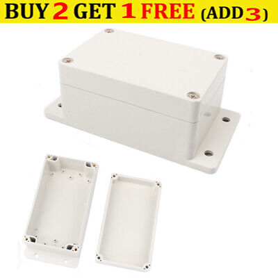 £8.29 • Buy IP66 Waterproof ABS Plastic Electronics Project Box Enclosure Hobby Case 2 Types