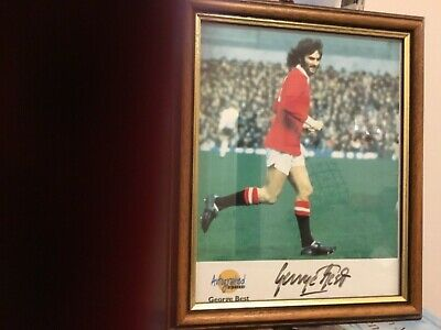 £143 • Buy Signed Autographed Picture Of George Best By  Autographed Editions .