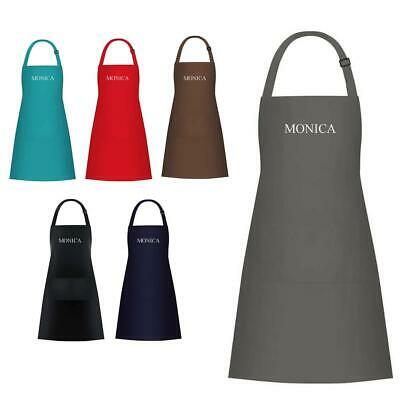 £9.99 • Buy Personalised Embroidered Custom Cooking Catering Work Apron Tabard 100% Cotton