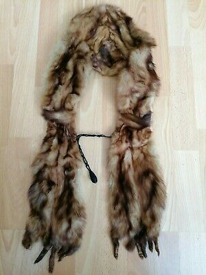 £19.99 • Buy Vintage Real Fur Mink Pelt/Stole/Scarf With Taxidermy Tail & Claws