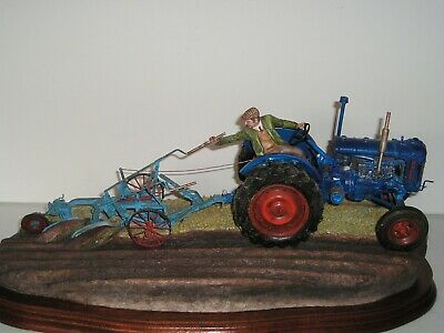 £275 • Buy Border Fine Arts:   AT THE VINTAGE   NEW IN BOX  Fordson E27N Tractor