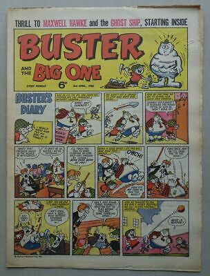 £0.99 • Buy Buster And Big One Comic Apr 3 1965 VG/VG+ (phil-comics)
