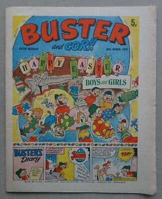 £0.99 • Buy Buster And Cor Comic Mar 29 1975 EASTER Issue FN/VF (phil-comics)