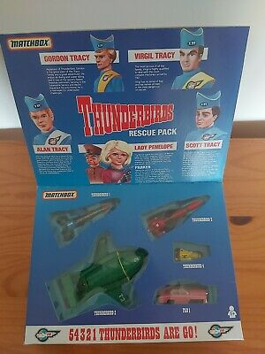 £25 • Buy Matchbox Thunderbirds Rescue Pack In Good Condition Hasn't Been Removed From The