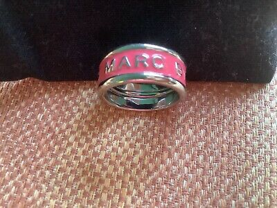 £27.50 • Buy Marc By Marc Jacobs Silver Ring In Pink, New Without Tags