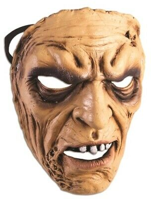 $ CDN11.25 • Buy Angry Man Frontal Face Mask Scary Old Grandpa Halloween Adult Costume Accessory