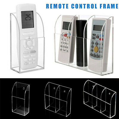 AU11.89 • Buy Acrylic TV Air Conditioner Remote Control Support 1-3 Box Wall Mounted Bracket